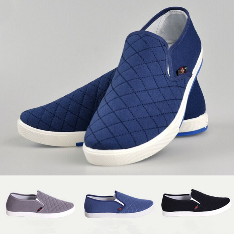 2015 New Wholesale Spring Fashion Men Casual Flats Canvas Driving Slip-on Shoes Comfortable Male Loafers Size 41-44 2016 new fashion comfortable casual walking loafers flats chaussure homme zapatillas hombre sales canvas tenis slip on men shoes