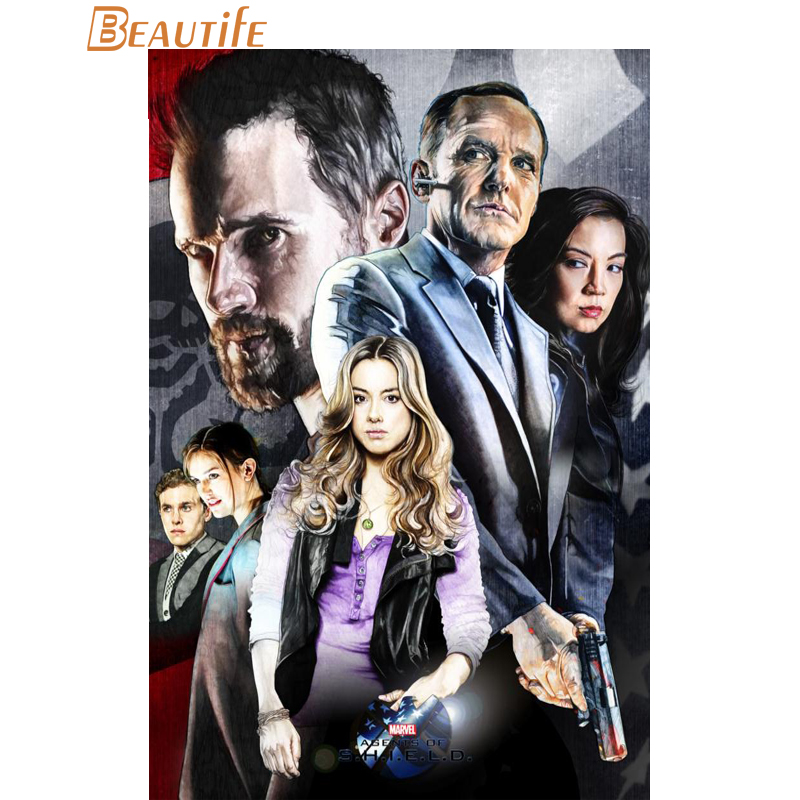 Custom Agents Of Shield Poster Home Decoration Fashion Silk Fabric Wall Poster Custom Poster Print More Size