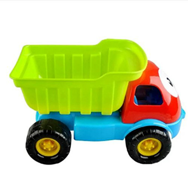 Sealive 8 pcs Beach Toys Playset for Kids Large Dump Truck Sand Shovel Summer Set for baby&kids&children