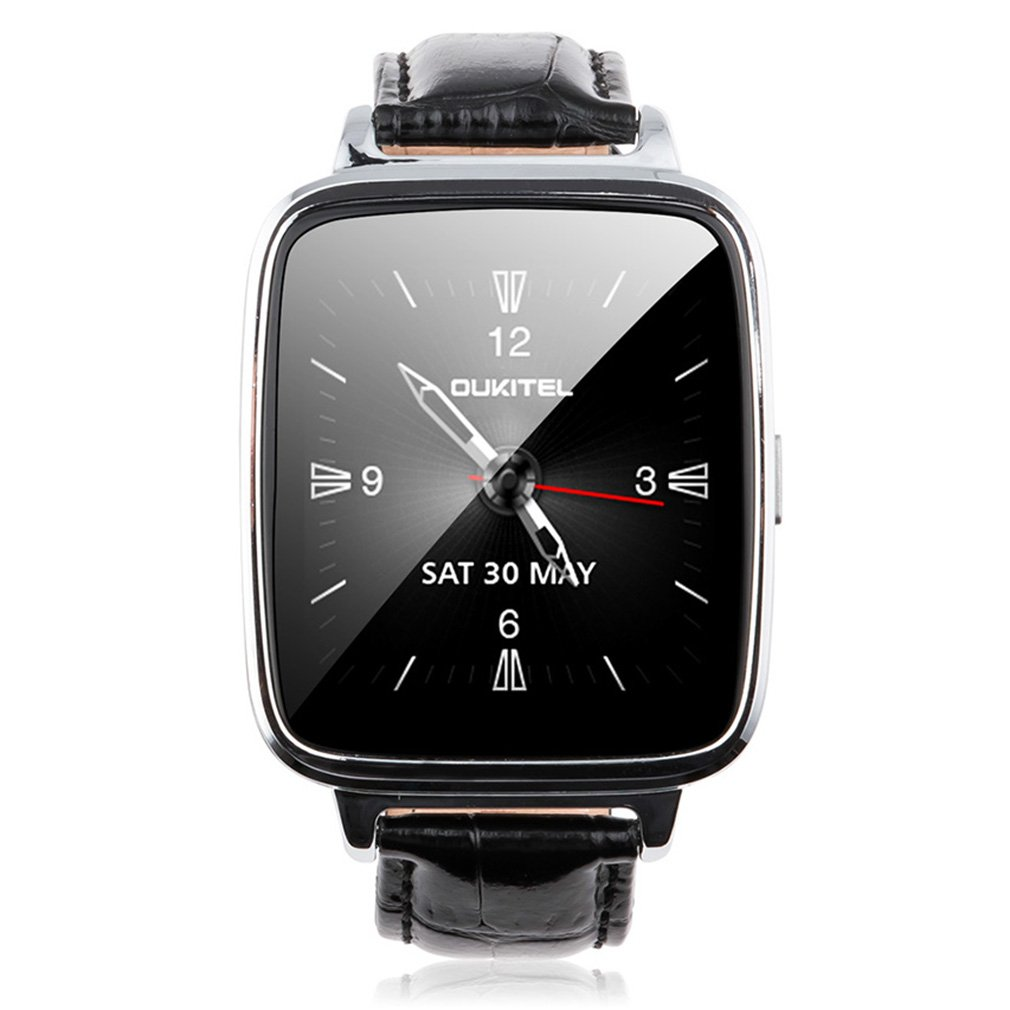 OUKITEL A28 Bluetooth Smart Watch Heart Rate Monitor Pedometer Digital Watch for Android For IOS Phone Relogio