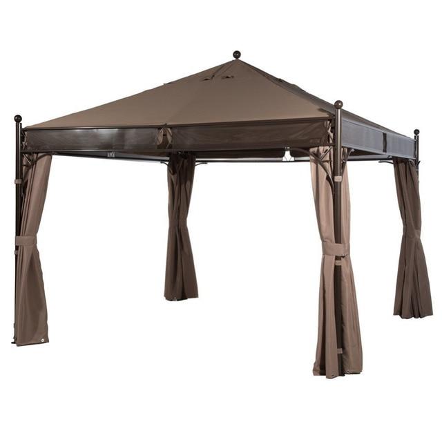 Genial Abba Patio 12 X 12 Ft Outdoor Art Steel Frame Garden Party Canopy Backyard  Gazebo With