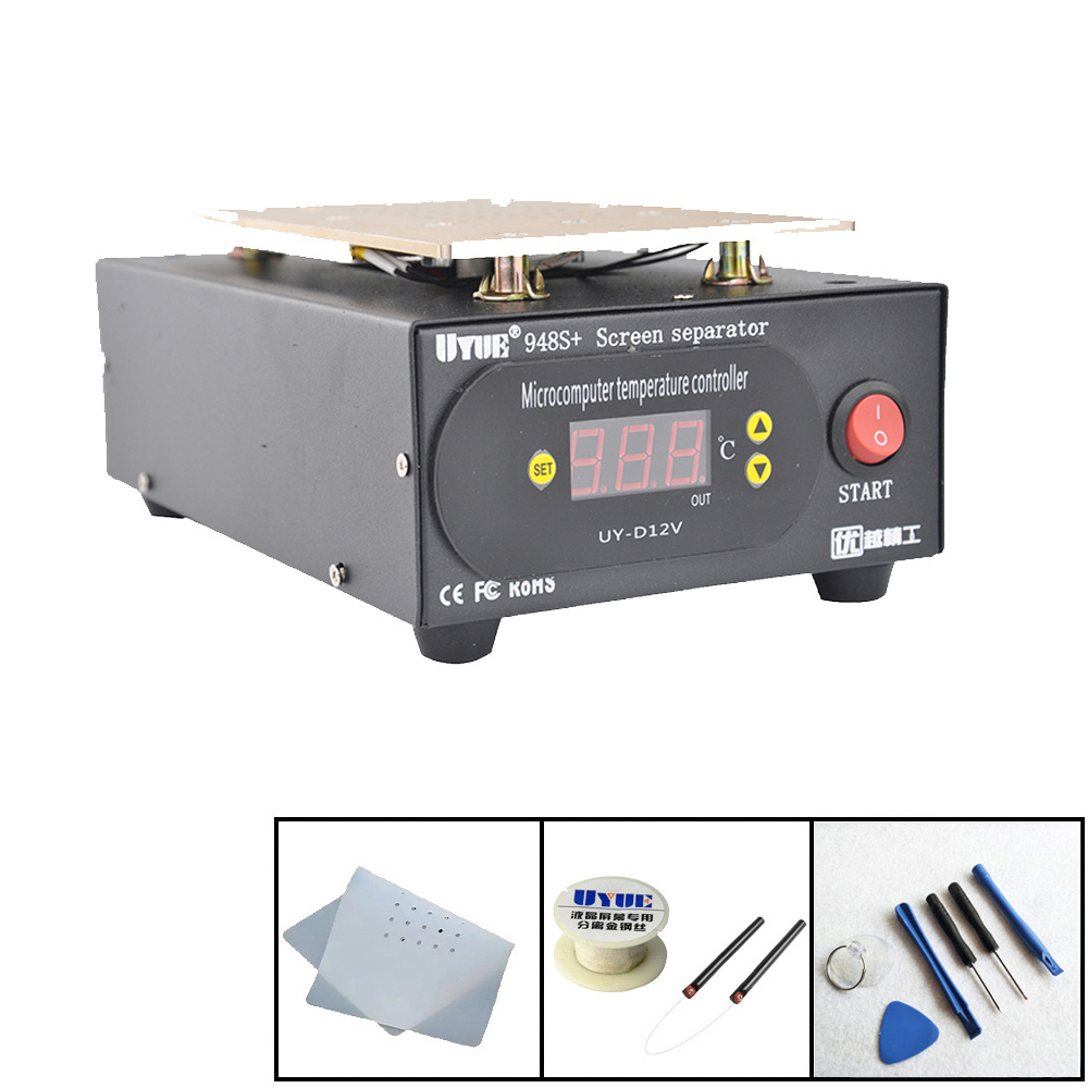 LCD Separator Machine Build in Pump Vacuum Screen Repair Machine Kit For Smart Phone iPhone Samsung