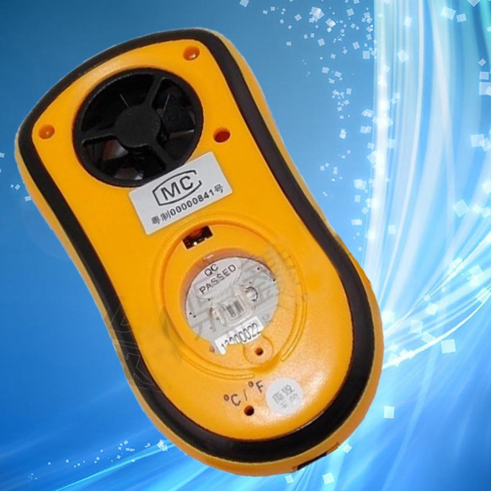 Valódi digitális fordulatszámmérő Gm8908 kézi levegő szélsebességmérő mérőóra Digitális szélmérő hőmérő