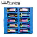 WLR STORE- NEO CHROME D1 LIGHT WEIGHT WHEEL RACING LUG NUTS P:12*1.5 L:50mm (20pcs/set) WHEEL NUTS