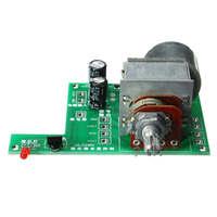 2017 New AC DC 9V Infrared Remote Control Volume Control Board ALPS Pre Motor Potentiometer 80mmx