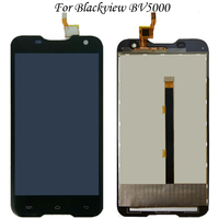 100% Working Well For Blackview BV5000 BV 5000 LCD LCD Display+Touch Screen Digitizer Assembly Replacement 5.0 inch Black