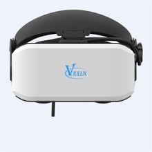 VIULUX V8 Óculos 3D Cabeças VR Capacete Filme Jogo PC conectado fone de Ouvido 3D VR Fone de Ouvido Para Jogar Jogos 3D de Realidade Virtual de Vídeo