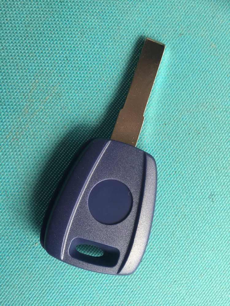 Zabeudeir 1 Pcs Nieuwe Vervangende Sleutel Shell Voor Fiat Transponder Sleutel Geval Met Ongesneden Sleutelblad Keyless Leeg Geen Logo