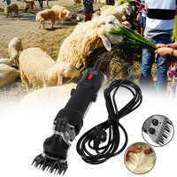 320W Electric Shearing Clippers Shears Sheep Goat Alpaca Trimmer Farm EU Plug