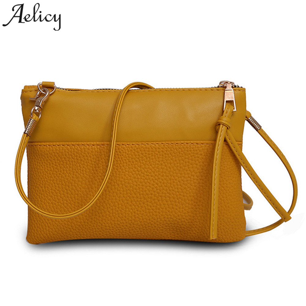 Aelicy Women Shoulder Bags Small Satchel Simple Design Female Crossbody Bag Soft PU Leather Zipper Flap Messenger Bags Sac Femme aelicy cute dog shape children shoulder bag fashion girl shoulder messenger bags baby pu leather ladies crossbody bags small