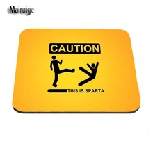 Customization Original Design Standard Size 18X22CM 20X25CM 25X29CM high speed Caution Logo Gaming Mouse Pads laptop Mouse Pad