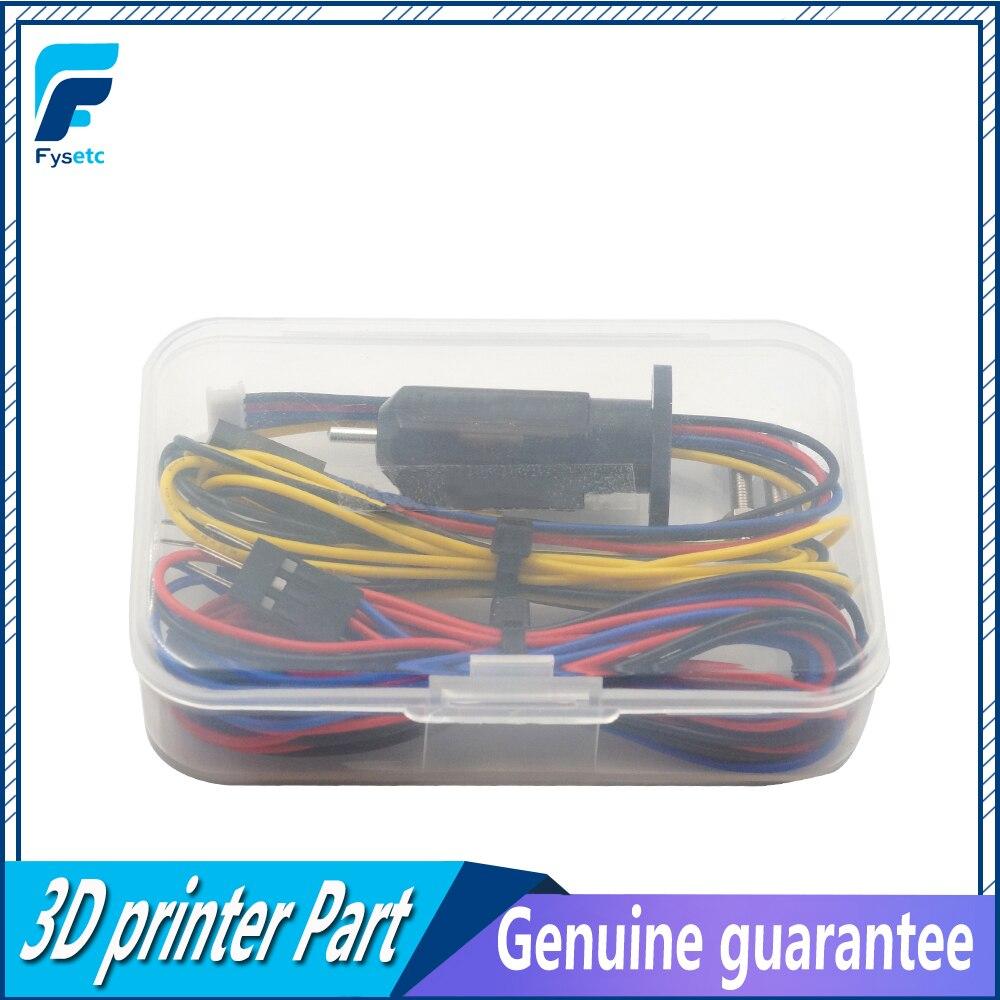 1 Set 3D táctil de la cama de nivelación de 3D impresora Z-Sonda Touch Sensor de nivelación automática Sensor para Anet a8 mk8 i3 3D impresora