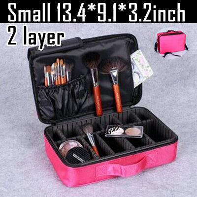 Makeup Bag Organizer Professional Makeup Box Artist Larger Bag nail pattern semi-permanent tool box cosmetic case bags