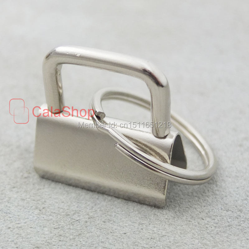 50 Pcs Key Fob Hardware 1.25