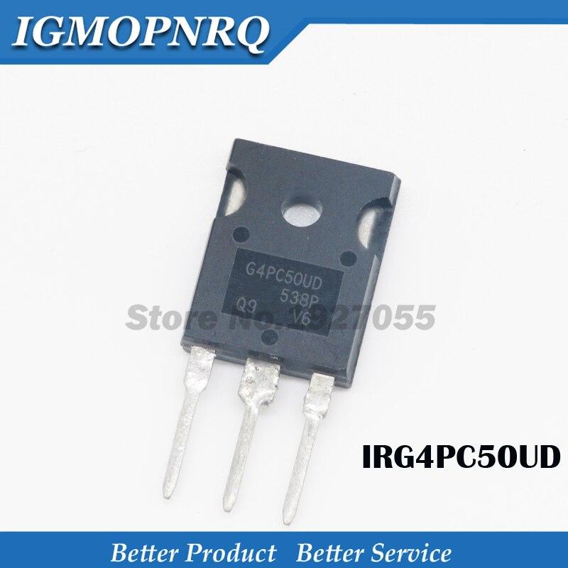 5pcs IRG4PC50UD TO-3P G4PC50UD 600V55A TO-247  New Original
