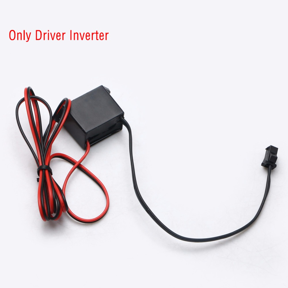 DC 12V Mini Neon EL Wire Power Driver Controller 1 5M Glow Cable ...