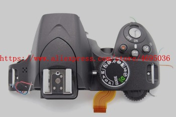 new D3200 open unit For nikon D3200 top shell D3200 Top Cover Outer Shell With unit Flash camera repair parts