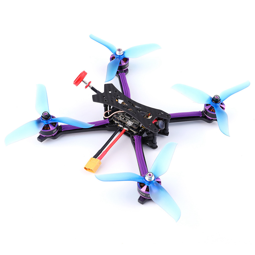 Tero Q215mm FPV Racing Drone F4 PRO+ V2 FC 35A 2-6S Blheli-S 4In1 ESC 5.8G VTX 800TVL Camera Frsky XM Receiver PNP/BNF hot new eachine stack x f4 flytower spare part 35a 4 in 1 esc 2 6s blheli s dshot600 ready for rc drone fpv racing