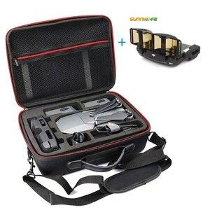 Image 1 - Mavic 프로 hardshell 어깨 방수 가방 케이스 dji mavic 프로 platinum 넘에 대 한 휴대용 스토리지 박스 셸 핸드백