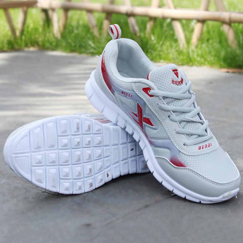9ddcc58cf53 Для мужчин повседневная обувь Демисезонный дышащие кроссовки Для мужчин  воздушной подушке сетки Спортивная обувь тенденция кроссовки