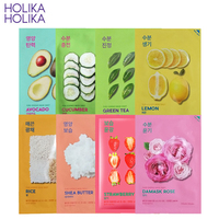 Holika Holika Natural Pure Essence Sheet Mask Face Mask Whitening Moisturizing Anti Wrinkle Facial Mask Korea Skin Care Product Skin Care