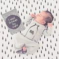 0-24 М Осени Младенца Спать Ткань Новорожденного Младенца Мальчиков Одежда Ползунки Боди Спальный Мешок Sleepsack