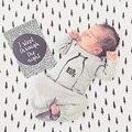 0-24 M Del Bebé saco de Dormir Otoño Paño Recién Nacido de Los Bebés Ropa Traje Mameluco Del Saco de dormir Sleepsack