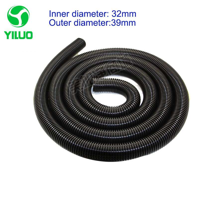 5m inner Diameter 32mm Black hose with High Temperature Flexible EVA vacuum cleaner Hose of industrial Vacuum Cleaner 2 5m inner diameter 40mm black hose with high temperature flexible eva vacuum cleaner hose of industrial vacuum cleaner