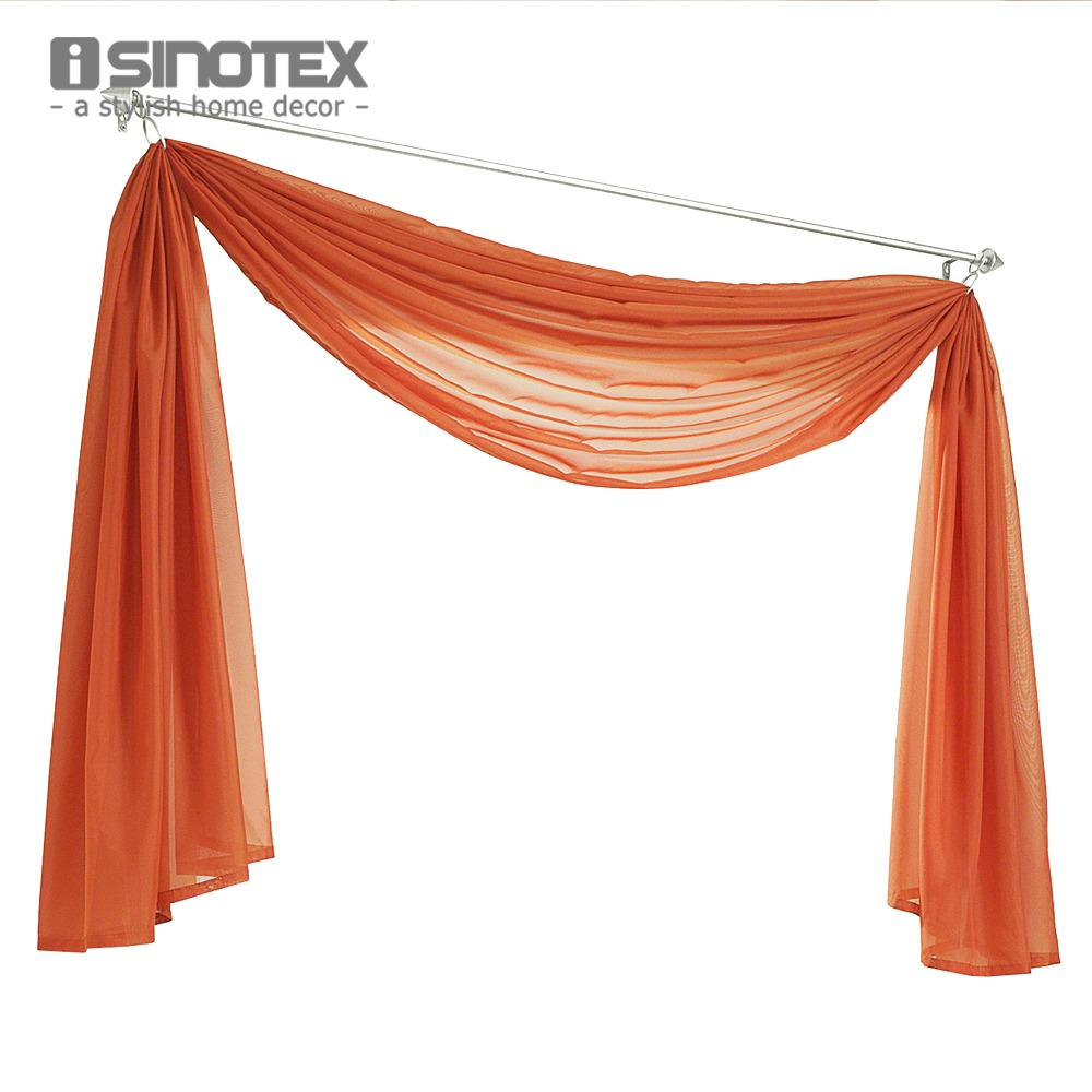 Hot Sale Multicolor European Valance Scarf Curtain