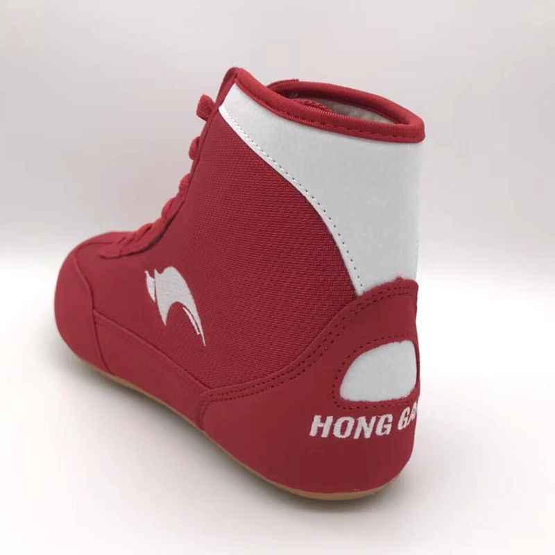 Профессиональный wo Для мужчин боксерские ботинки туфли для Реслинга; шестерни Военные кроссовки тренажерный зал оборудования Для мужчин t тренировка, бой сапоги большие размеры 36–46