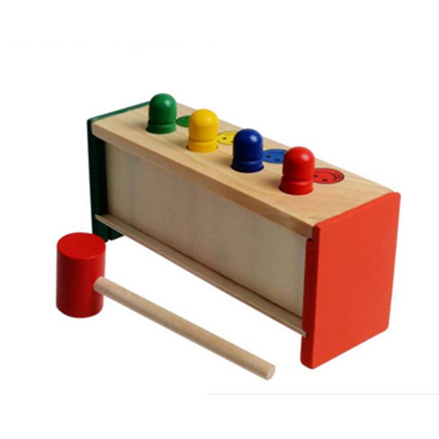 Colorful-Mini-Cute-Wooden-Hammer-Pounding-Bench-Blow-Air-Interesting-Toy-For-Baby-Kids-Gifts-1