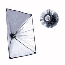 50x70 см студийный светильник Fr 4 гнезда E27 лампа головная фотография зонт для софтбокса