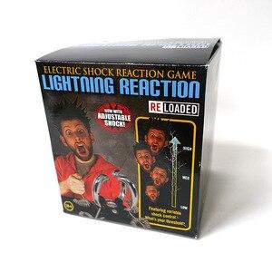 Image 5 - 4 人 Paladone リロード電気衝撃バーパーティーエンターテイメントデスクトップゲーム雷反応ジョークパーティーギフト子供のおもちゃ