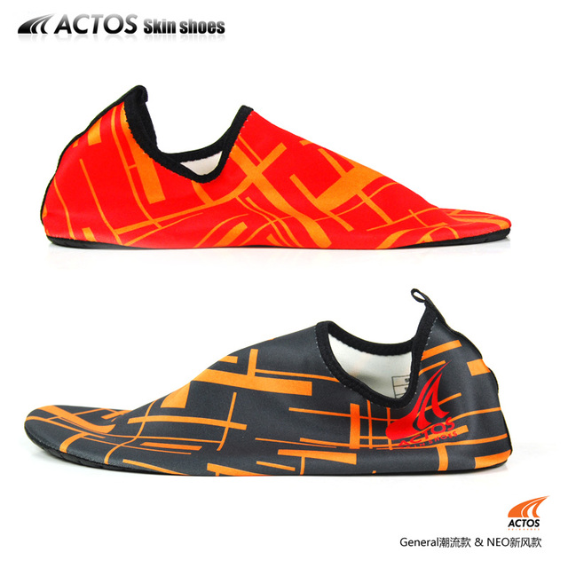 Actos skin shoes ldquo . barefoot rdquo . moccasin - the trend of the beach at home
