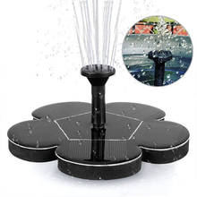 Garden Solar Fountain Solar Water Fountain Pump for Garden Pool Pond Watering Outdoor solar Panel Pumps Kit Garden Decoration