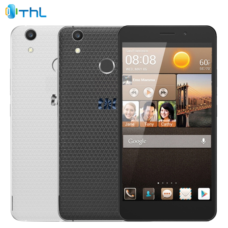 "Original THL T9 Plus Cell Phone 2GB RAM 16GB ROM MT6737 Quad-Core 1.3GHZ 5.5"" Screen 13.0MP Android 6.0 OS 3000mAh Smartphone"