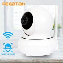 Мини wifi 1080p отслеживание лица ptz ip камера p2p беспроводная