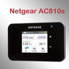 Новейший маршрутизатор netger AC810S 4g 600 Мбит/с 4g wifi роутер 4g wifi ключ lte беспроводной Aircard 810S 4G LTE mifi Карманный usb wi fi роутер 4g