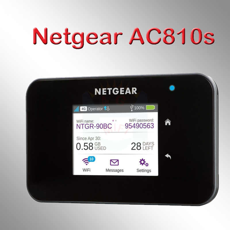 Más netger AC810S 4g 600mbps 4g router wifi 4g dongle wifi inalámbrica lte Aircard 810 4 S 4G LTE mifi usb de bolsillo wi-fi router 4g