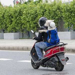 Image 5 - 通気性のペット犬大型犬ゴールデンレトリバーのためのブルドッグリュック調節可能なビッグ犬の旅行用バッグペット製品