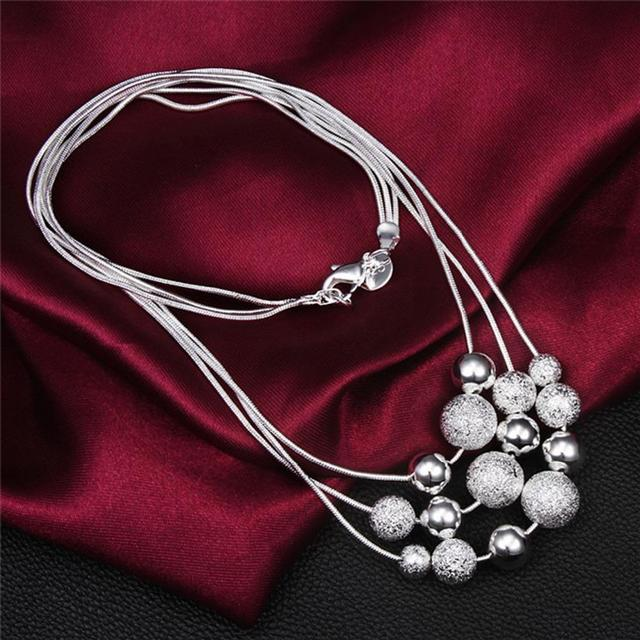 Best Collier Femme Collares statement Multilayer Pearl Necklace Cheap Necklace For Baby Girl