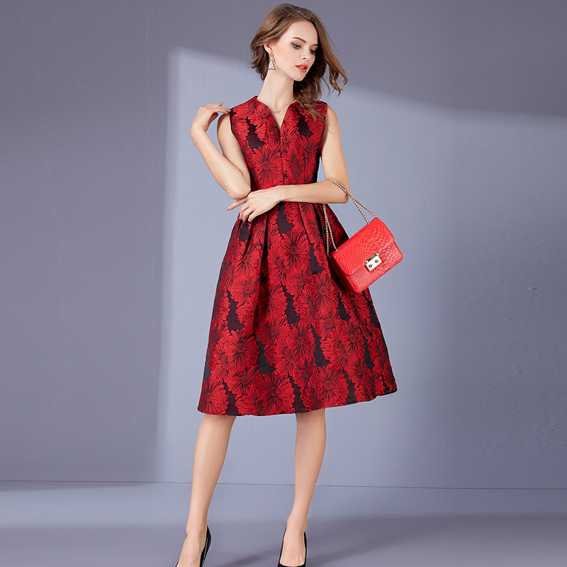 DRSZ6287 Autumn Embroidery jacquard short Red Bridesmaid Dresses wedding  party dress prom gown wholesale fashion women clothing-in Bridesmaid  Dresses from ... a190d0e24a4e