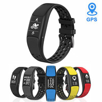 GPS Smart Band Waterproof ip68 Smartband Sport Watch Men Fitness Tracker Inteligente Band Wristband Pulseira For iOS Android