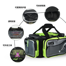 iLure 2017New Large fishing Sports Bags Multifunctional waterproof Fishing Fishing Tackle Bag Backpack 40cm*20cm*20cm Camouflage
