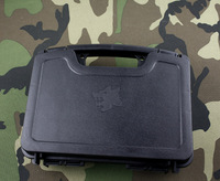 ABS Pistol Case Tactical Hard Pistol Case Gun Case Padded Foam Lining for hunting airsoft - Free shipping