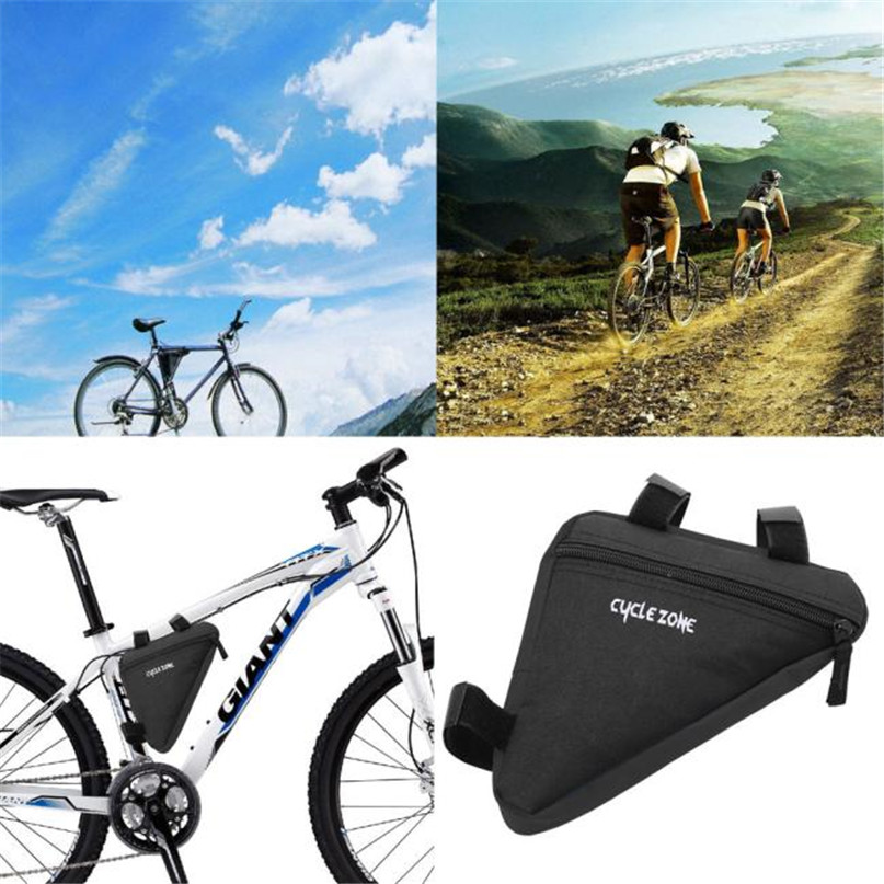 Triangle Cycling Bike Bicycle Front Tube Frame Pouch Bag Holder.Saddle.Pannier
