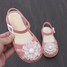 Kids Girls Mini Shoes 2019 New Summer Sandals for Sweet Beach Cute Buckle Toddler Size 24-29