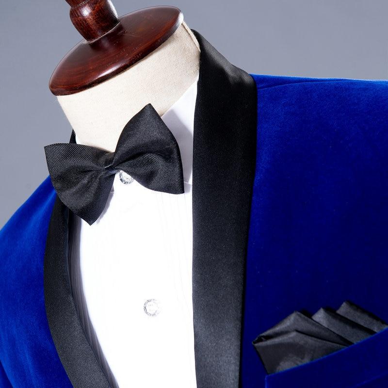 (Μπουφάν + Παντελόνι) Γαμπρός Tuxedo - Ανδρικός ρουχισμός - Φωτογραφία 3