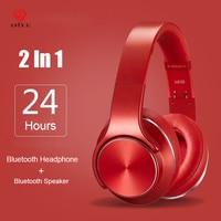 Asina SODO Bluetooth Headphone Wireless 2in1 NFC Speaker Ear Wireless Sports Magic Wireless Headset With Microphone NFC FM