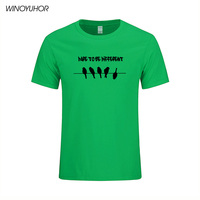 Be Different Unique Look Men S T Shirts Summer Cotton Fitness T Shirt Homme Funny Birds